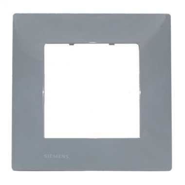 SIEMENS Delta Viva Plaque simple - Gris