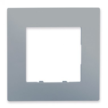 SIEMENS Delta Viva Plaque simple - Silver