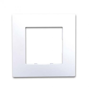 SIEMENS Delta Viva Plaque simple - Blanc