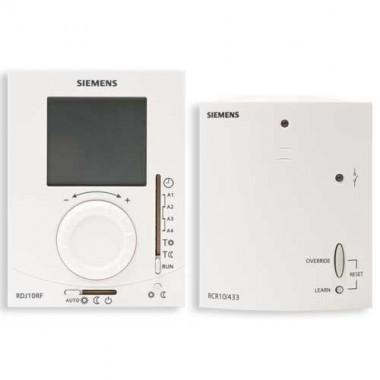 SIEMENS Pack Thermostat d'ambiance programmable journalier sans fil + 1 récepteur