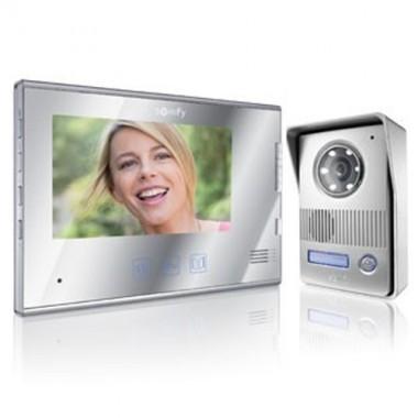 Visiophone somfy couleur v400 miroir rts 2401281 - Visiophone somfy v400 ...