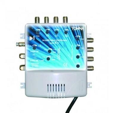 TONNA Amplificateur coupleur 2 entrées 8 sorties