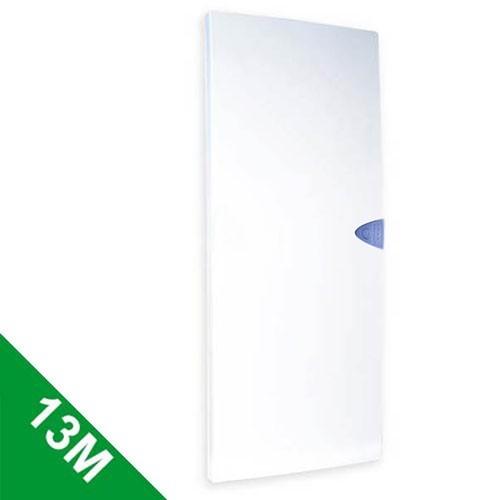 schneider opale porte opaque pour tableau lectrique 13 modules 4 rang es 13424. Black Bedroom Furniture Sets. Home Design Ideas