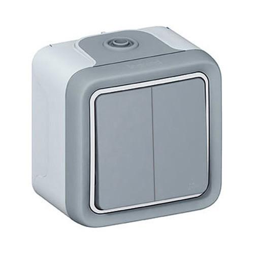 legrand plexo interrupteur double va et vient 069715. Black Bedroom Furniture Sets. Home Design Ideas