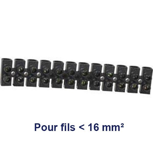 barrette dominos de connexion 16mm barrettes de connexion vis bornes de connexion. Black Bedroom Furniture Sets. Home Design Ideas