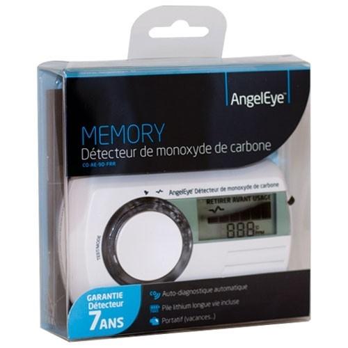 Détecteur De Monoxyde De Carbone Garantie 7 Ans Angeleye Memory