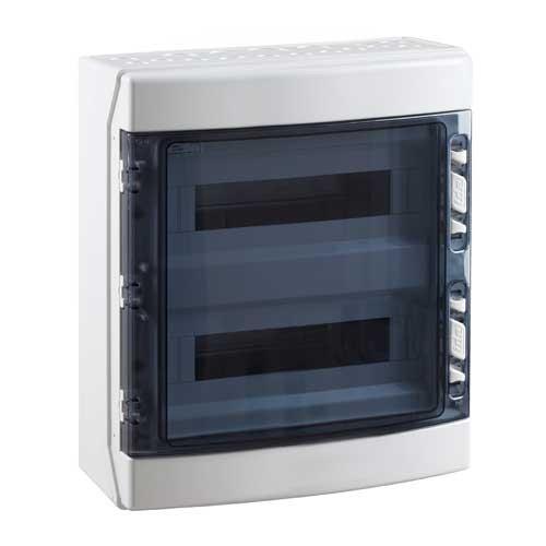 tableau lectrique tanche ide 2 rang es de 18 modules ip65 cdn36pt2f rr. Black Bedroom Furniture Sets. Home Design Ideas