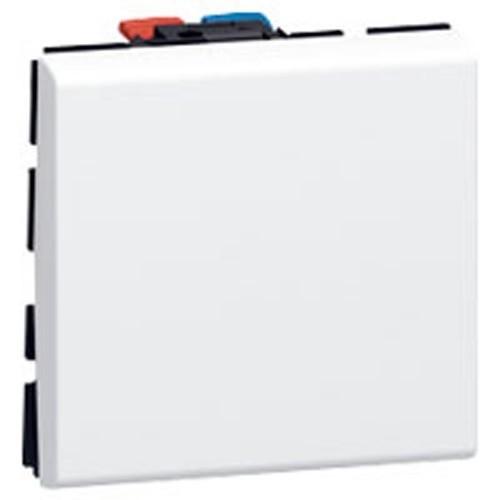 bouton poussoir legrand mosaic blanc 077040. Black Bedroom Furniture Sets. Home Design Ideas