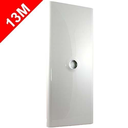 legrand drivia porte blanche pour tableau lectrique drivia 13 modules 4 rang es 401334. Black Bedroom Furniture Sets. Home Design Ideas