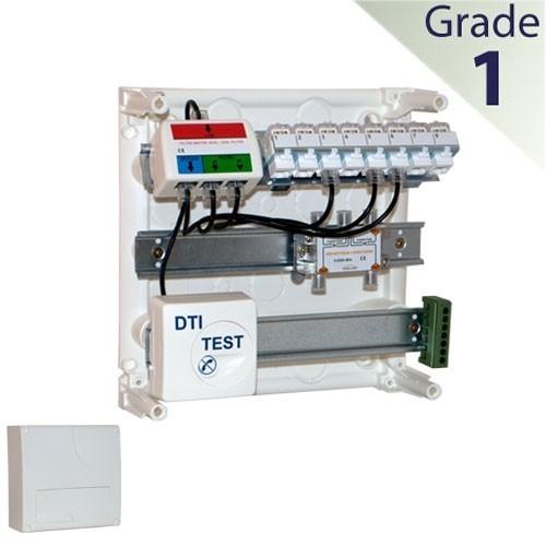 Elesys tableau de communication 8 rj45 grade 1 ga831 - Branchement coffret de communication ...