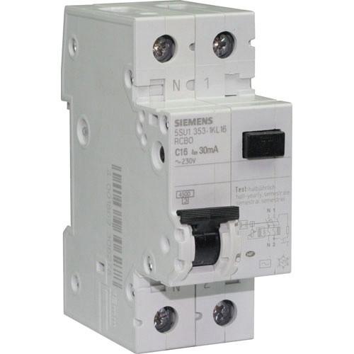 disjoncteur différentiel siemens 16a 30ma type ac 123elec.com - Combien D Interrupteur Differentiel Dans Une Maison
