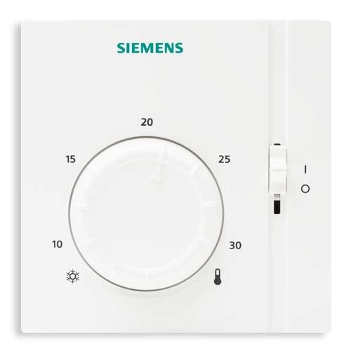 siemens thermostat d 39 ambiance analogique non programmable. Black Bedroom Furniture Sets. Home Design Ideas