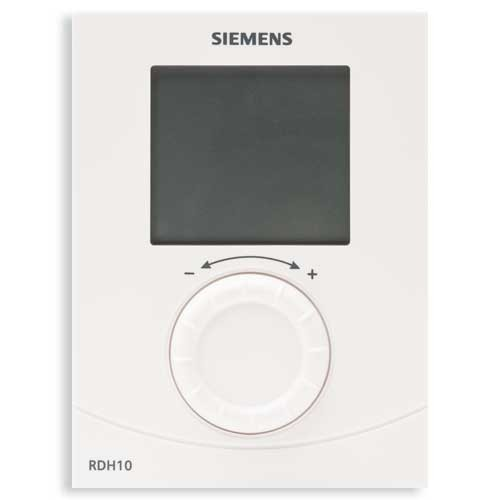 Siemens thermostat d 39 ambiance digital non programmable - Thermostat d ambiance programmable sans fil ...