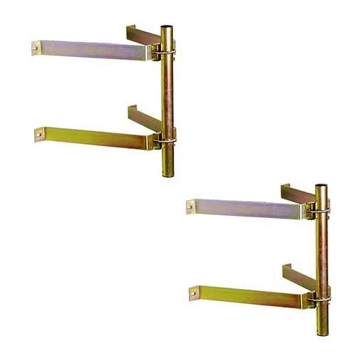 2 fixations murales type ascenseur acier d port 450 mm tonna 509172. Black Bedroom Furniture Sets. Home Design Ideas