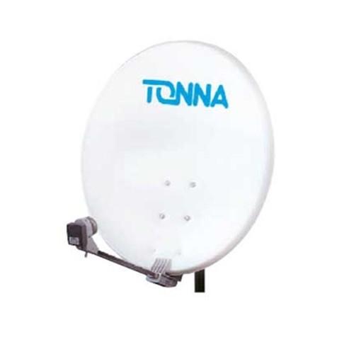 antenne satellite acier 60cm avec lnb tonna 708716. Black Bedroom Furniture Sets. Home Design Ideas