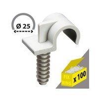 ING FIXATION Fix-ring Diamètre 25 - Boîte de 100