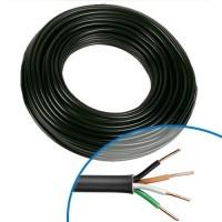 Câble électrique RO2V 4G 2.5² - Couronne de 50m