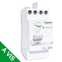 SCHNEIDER XP Interrupteur différentiel DCLIC 40A 30mA type A