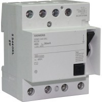 SIEMENS Interrupteur différentiel tétrapolaire 40A 30mA type AC