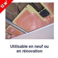 Kit chauffage rayonnant pour plafond Plafosun 12m² Kimy