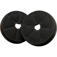2 cartouches charbon actif pour hotte de cuisine