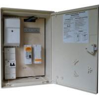 Coffret électrique provisoire de chantier monophasé