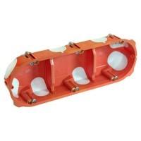 CAPRI Capritherm Boite encastrement triple Entraxe 71 P40
