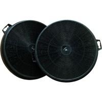 DMO Lot de 2 filtres moteur au charbon actif pour hotte de cuisine