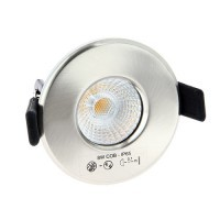 EASYLIGHT Spot LED dimmable BBC avec transformateur 12V 40° 8W 600lm 3000°K alu brossé - 7319