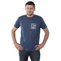 Tee-Shirt 123elec Bleu denim Taille XXL