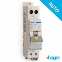 HAGER Disjoncteur AUTO Phase Neutre 16A