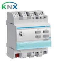 HAGER KNX Actionneur de commutation 4 sorties multifonctions 16A 230V - TYA604C