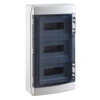 IDE Tableau électrique étanche 3 rangées de 12 modules