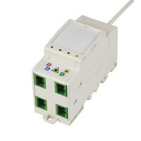 IKEPE DTIO modulaire 4 fibres optique avec raccord et pigtail SC/APC