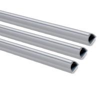 INOFIX Cablefix Gaine adhésive 10,5 x 10 mm - Gris métallisé