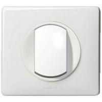 LEGRAND Céliane Interrupteur poussoir - Neutre Blanc
