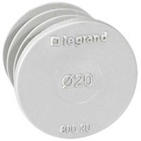 LEGRAND EcoBatibox Obturateur Ø20mm - 080020