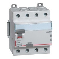 LEGRAND DX3 Interrupteur différentiel 4P 63A Type AC 30mA