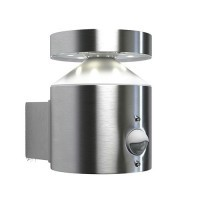 OSRAM Applique Extérieure LED Endura-style cylinder + détecteur 6W 360lm 230V acier inoxydable
