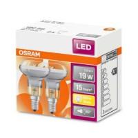 OSRAM Lot de 2 Spots LED 230V 180lm 2,8W E14 R50