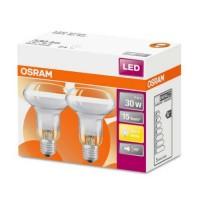 OSRAM Lot de 2 Spots LED R63 E27 230V 360lm 4W
