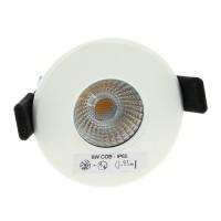Spot LED 8W fixe dimmable à encastrer blanc BBC