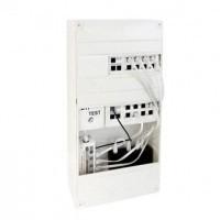 Tableau de communication 16 RJ45 grade 1 avec Kit Box en ambiance