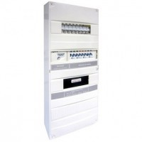 Tableau de communication semi-automatique Media Select 8 RJ45 grade 1