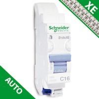 SCHNEIDER XE Disjoncteur électrique bornes AUTO D'clic 16A - 16726