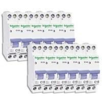 SCHNEIDER XP Lot de 12 disjoncteurs électriques D'clic 16A - 20726