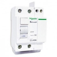 SCHNEIDER XP Interrupteur différentiel DCLIC 63A 30mA type AC