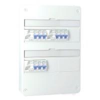 SCHNEIDER RESI9 XE Tableau électrique pré-équipé auto 2 rangées 3ID 40A 9 disjoncteurs