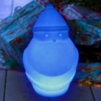 Père Noël lumineux à LED multicolore sans fil étanche