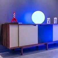 Boule lumineuse à LED multicolore sans fil étanche et flottante